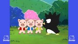 サンリオアニメ世界名作劇場 ダニエルスターのお話だ~れ? ハローキティの長靴をはいた猫 バッドばつ丸のオオカミが来た!