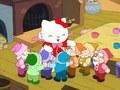 サンリオアニメ世界名作劇場 ダニエルスターのお話だ~れ? ハローキティの白雪姫 バッドばつ丸のアリとキリギリス
