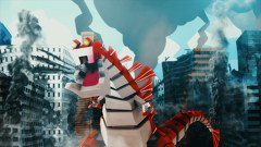 SUSHI POLICE 第12話 巨大怪獣スシラとの戦い(後篇)