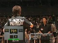 burn.JAPANTOUR2007 予選Bブロック 中井康博VS谷内太郎